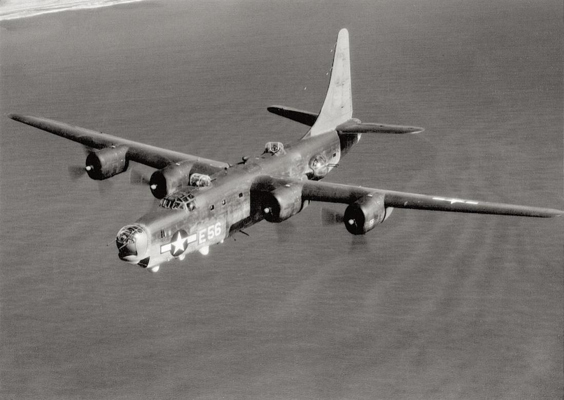 Naam: Foto 639. Consolidated PB4Y-2 Privateer. 1945. (Marineversie B-24D Liberator).jpg Bekeken: 152 Grootte: 101,1 KB