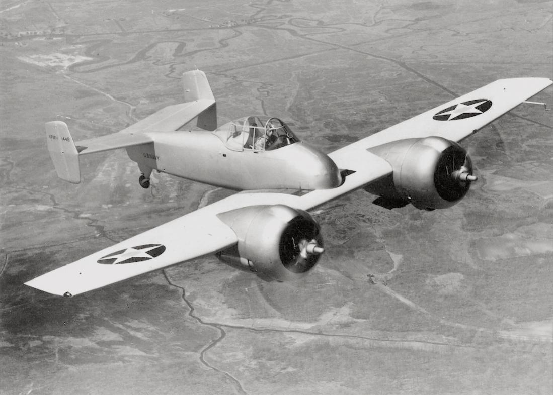 Naam: Foto 579. Grumman (model number G-34) XF5F Skyrocket, kopie 1100.jpg Bekeken: 213 Grootte: 101,8 KB