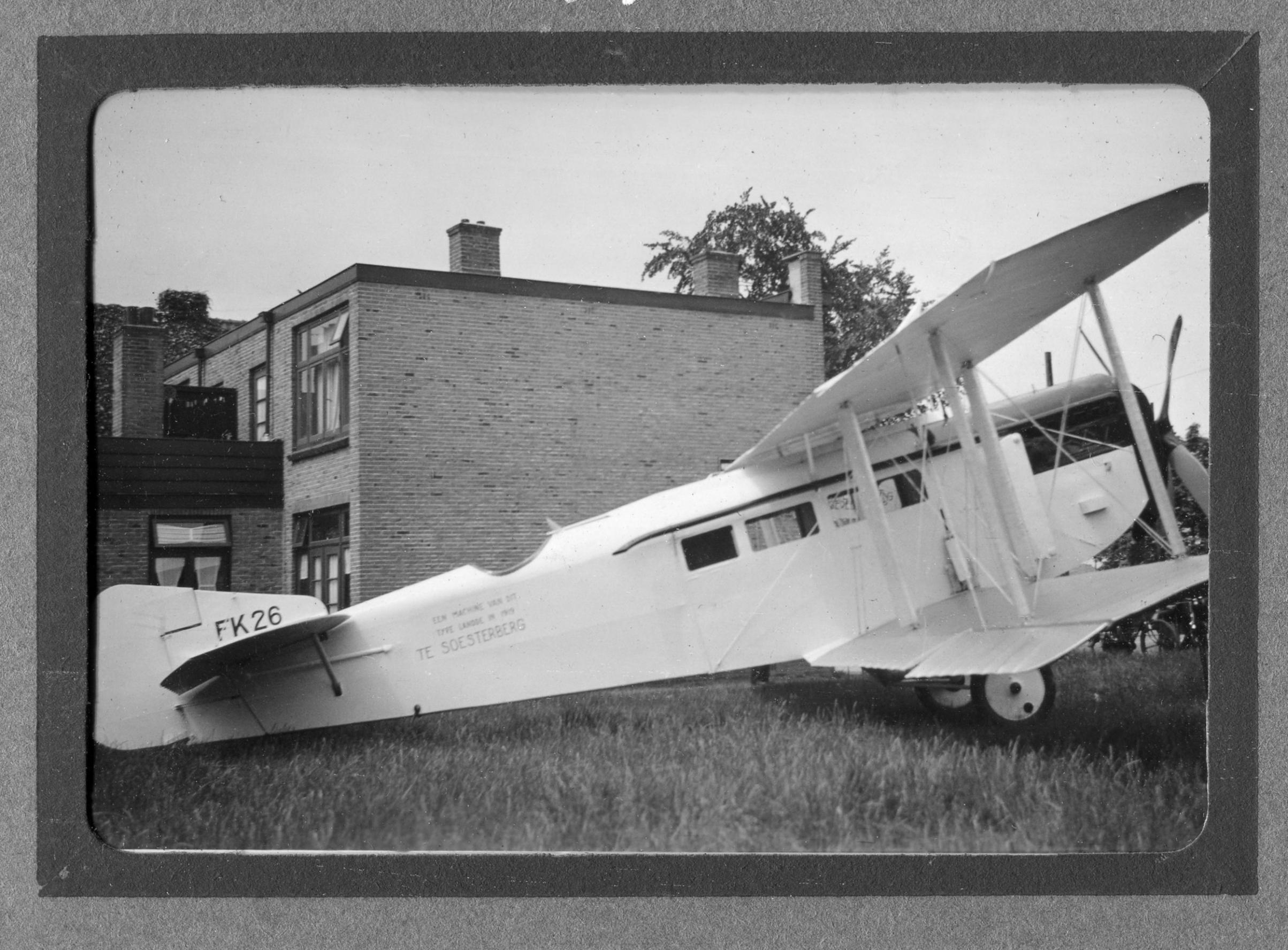 Naam: FK26 Soesterberg jul1938 archief GJTORNIJ.jpg Bekeken: 404 Grootte: 485,8 KB