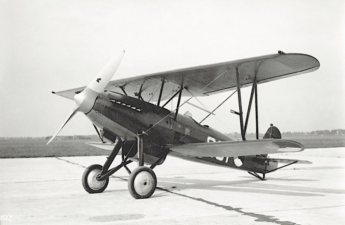 Naam: Foto 106. '201'. Fokker D-XVII.jpg Bekeken: 503 Grootte: 81,6 KB