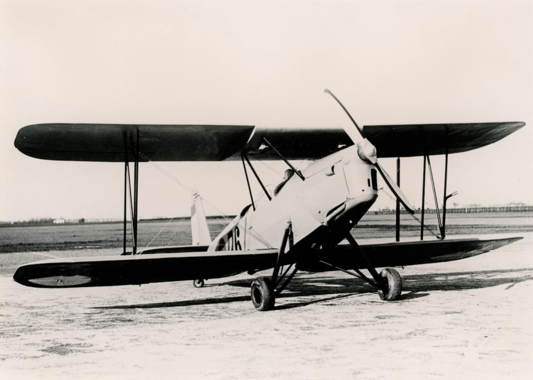 Naam: Foto 107. '76'. Koolhoven FK-46. Enige tijd door de Militaire Luchtvaart beproefd. 1100 breed.jpg Bekeken: 301 Grootte: 76,7 KB
