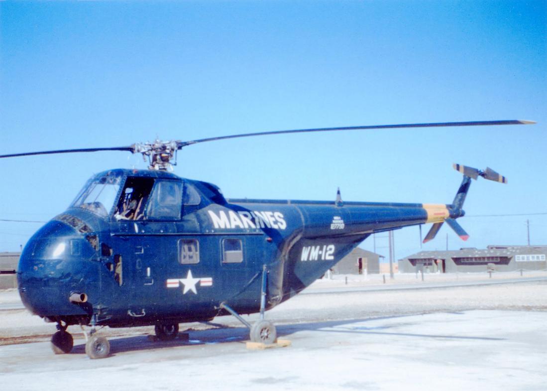 Naam: Foto 719. Sikorsky HRS-1. 1100 breed.jpg Bekeken: 154 Grootte: 75,5 KB