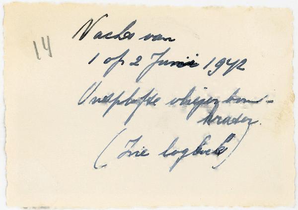 Naam: Foto 133a. az. Nacht van 1 op 2 Juni 1942. Ontplofte vliegtuigbomkrater. (Galehof??). az. 600 br.jpg Bekeken: 188 Grootte: 320,5 KB