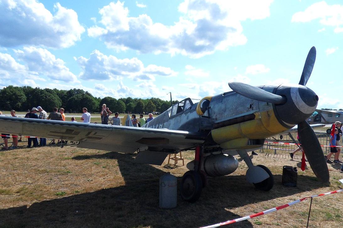 Naam: Bf109G5 op Seppe 1sep2019 (4).jpg Bekeken: 75 Grootte: 405,2 KB