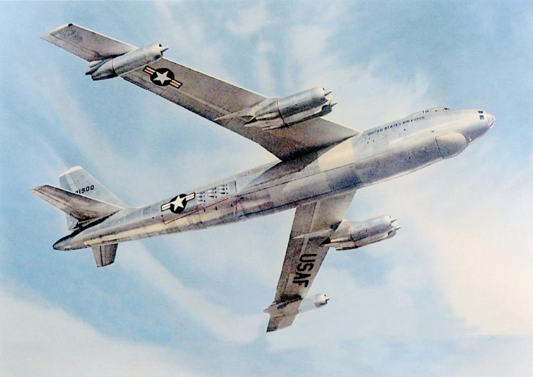 Naam: Foto 779. 53-1900. (MSN 314). Lockheed-Marietta B-47E-65-LM Stratojet. 1100 breed.jpg Bekeken: 58 Grootte: 77,7 KB