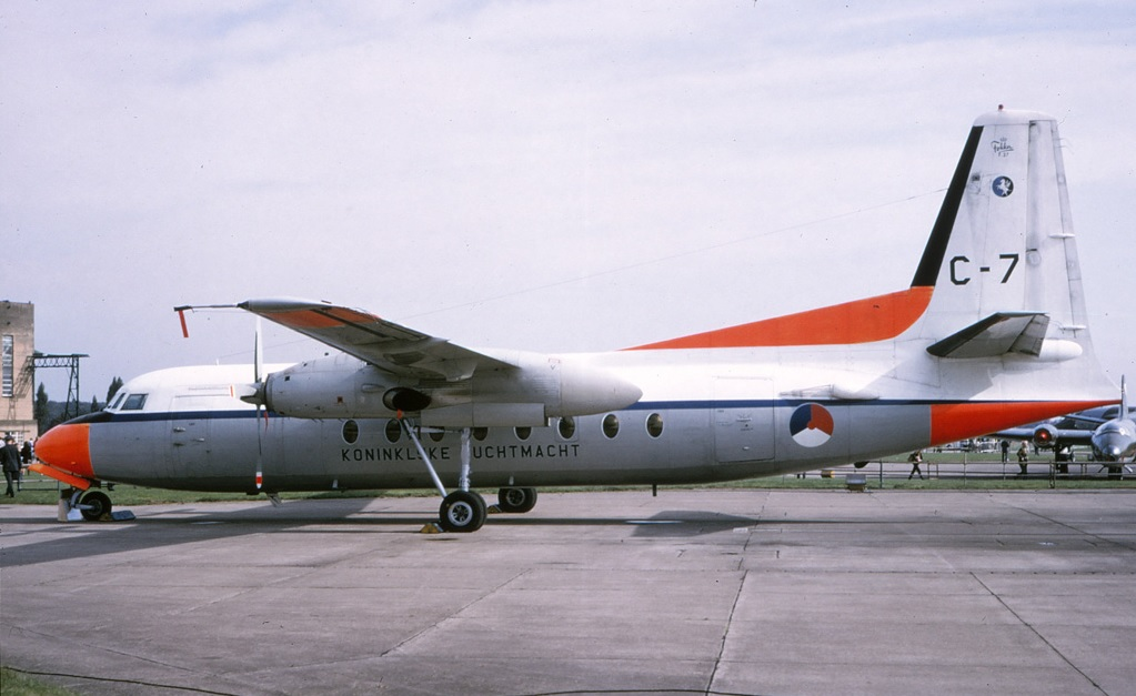 Naam: Fokker F.27   C-7 van 334 squadron.jpg Bekeken: 117 Grootte: 150,9 KB