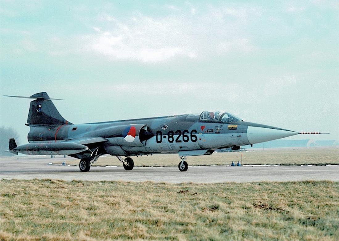 Naam: Foto 164. 'D-8266'. Lockheed F-104G Starfighter.jpg Bekeken: 361 Grootte: 106,2 KB