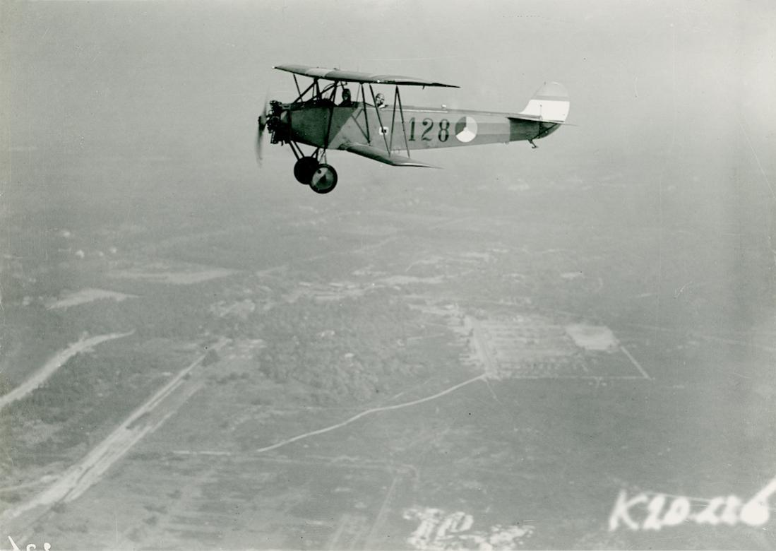 Naam: Foto 124. '128'. Fokker S.IV. 1100 breed.jpg Bekeken: 446 Grootte: 65,4 KB