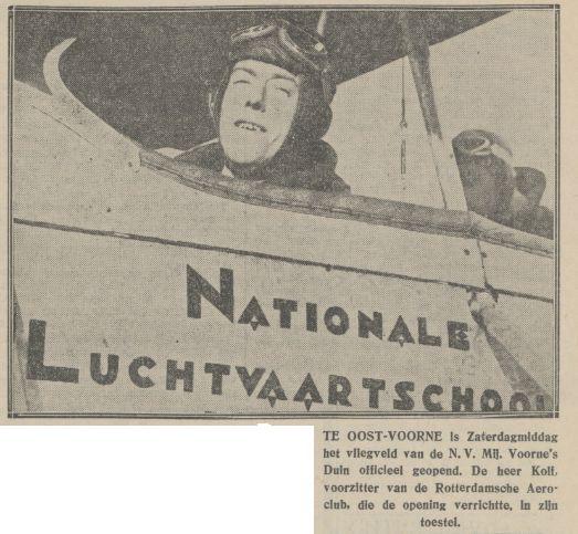 Naam: vliegveld oostvoorne algemeen handelsblad 18-08-1930.jpg Bekeken: 615 Grootte: 54,1 KB