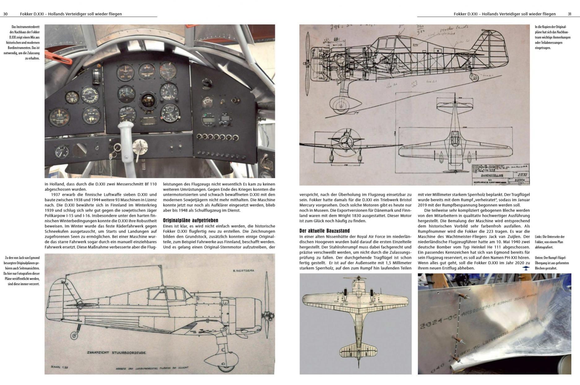 Naam: Fliegerrevue X 75 - Hollands verteidiger soll wieder fliegen 12.jpg Bekeken: 62 Grootte: 313,3 KB
