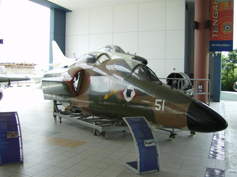 Naam: Singapore Air Force Museum at Paya Lebar 7.jpg Bekeken: 81 Grootte: 62,4 KB