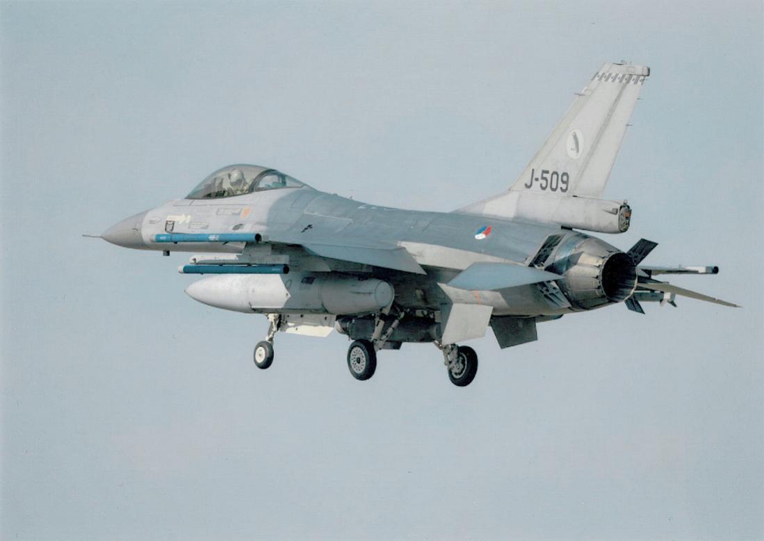 Naam: Foto 161. 'J-509'. General Dynamics F-16A.jpg Bekeken: 383 Grootte: 49,0 KB