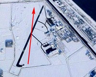 Naam: a2 De Kooy. Zweefvliegstrip sneeuw.jpg Bekeken: 1032 Grootte: 40,9 KB