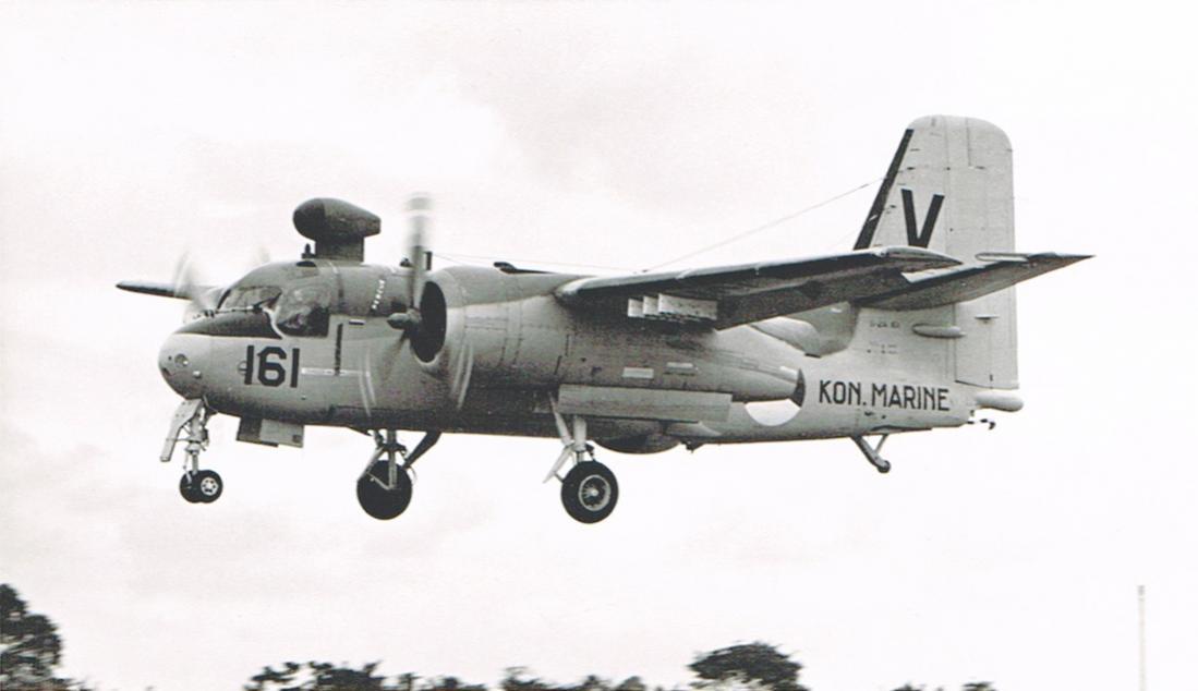 Naam: #373. '161' Grumman S2F-1 (S-2A) Tracker. 1100 breed.jpg Bekeken: 135 Grootte: 48,4 KB