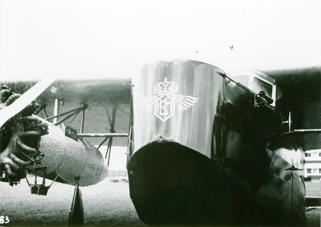 Naam: Foto 347. Neus Fokker F.VIII. 1100 breed.jpg Bekeken: 232 Grootte: 75,9 KB