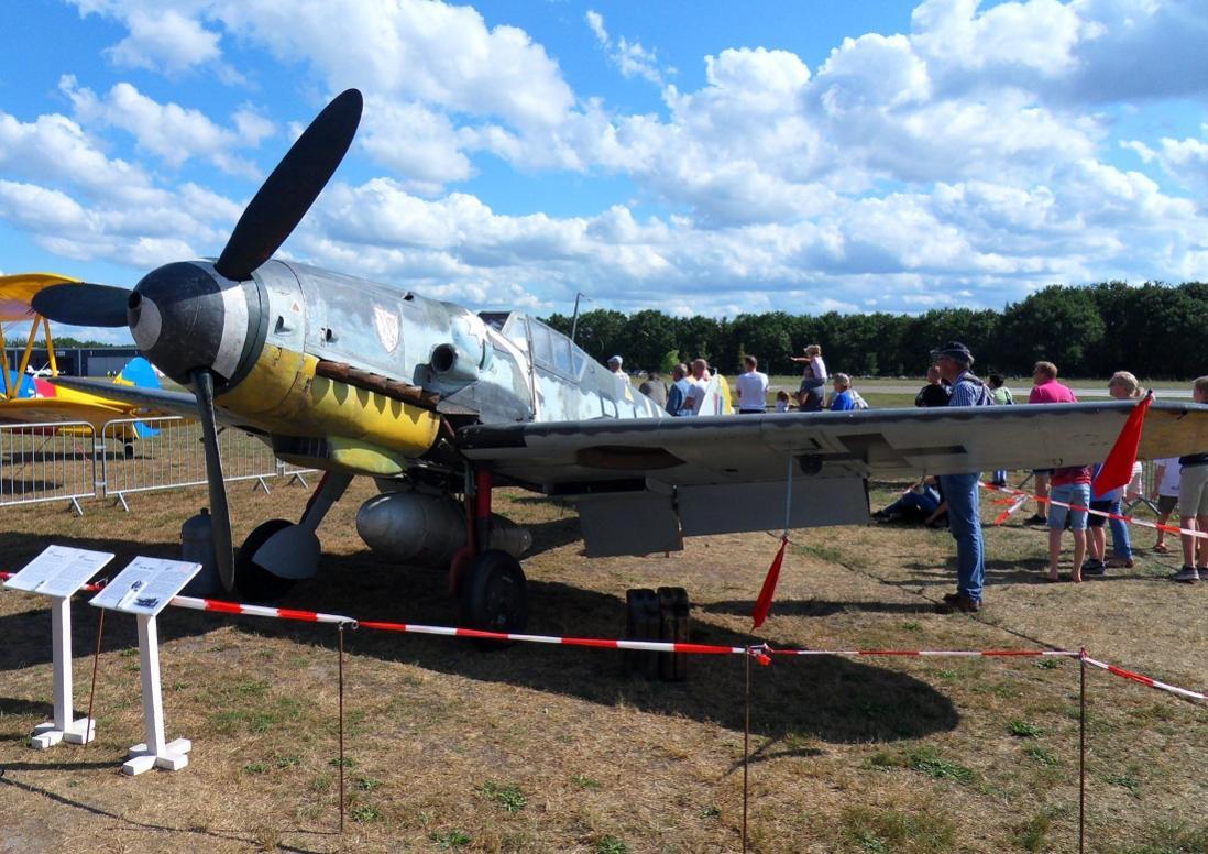 Naam: Bf109G5 op Seppe 1sep2019 (3).jpg Bekeken: 249 Grootte: 150,7 KB