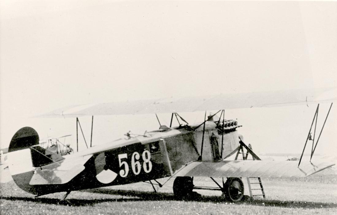 Naam: Foto 145. '568'. Fokker C.IV. 1100 breed.jpg Bekeken: 57 Grootte: 71,6 KB