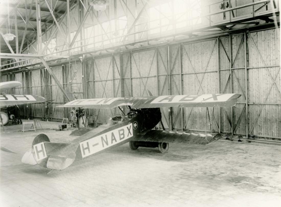 Naam: Foto 382. H-NABX. Fokker (KLM) C.II. 1100 breed.jpg Bekeken: 23 Grootte: 112,1 KB