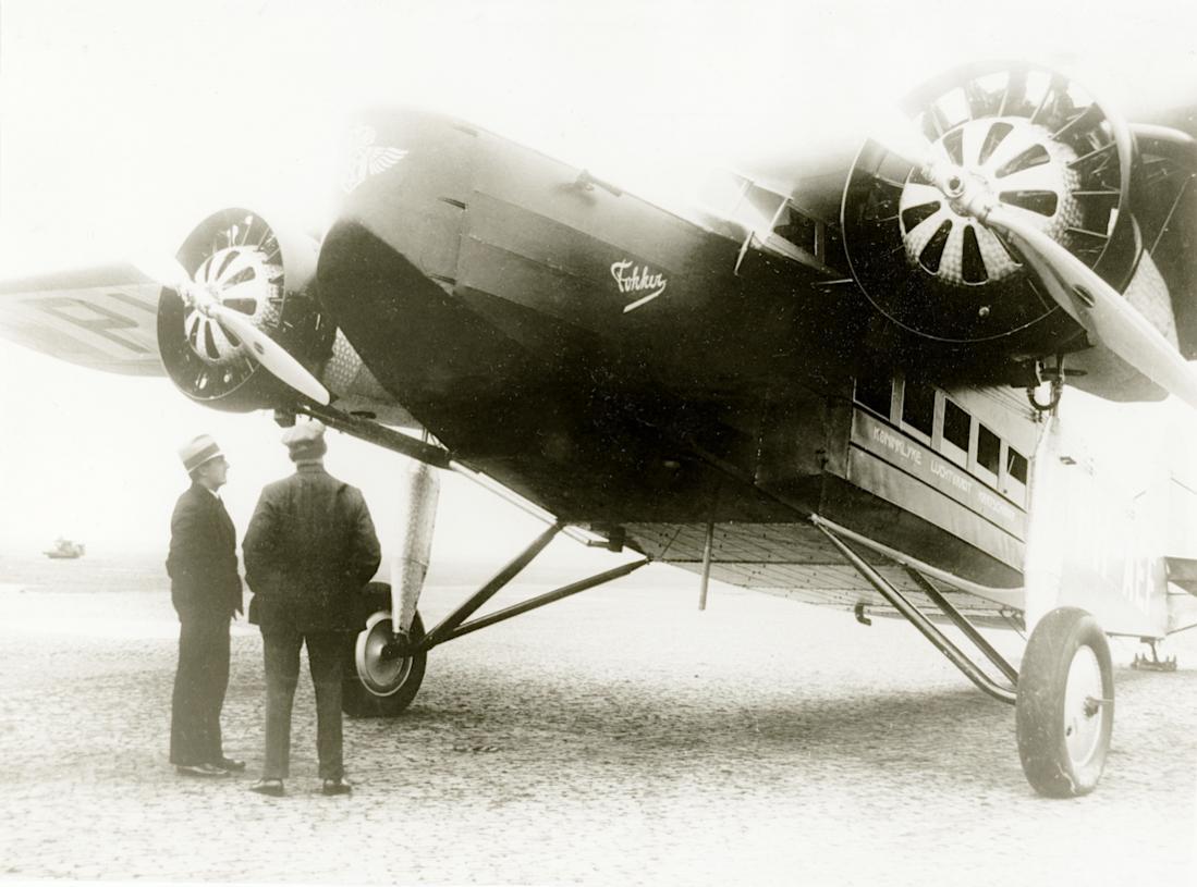 Naam: Foto 334. 'PH-AEF'. Fokker F.VIII. 1100 breed.jpg Bekeken: 145 Grootte: 96,6 KB