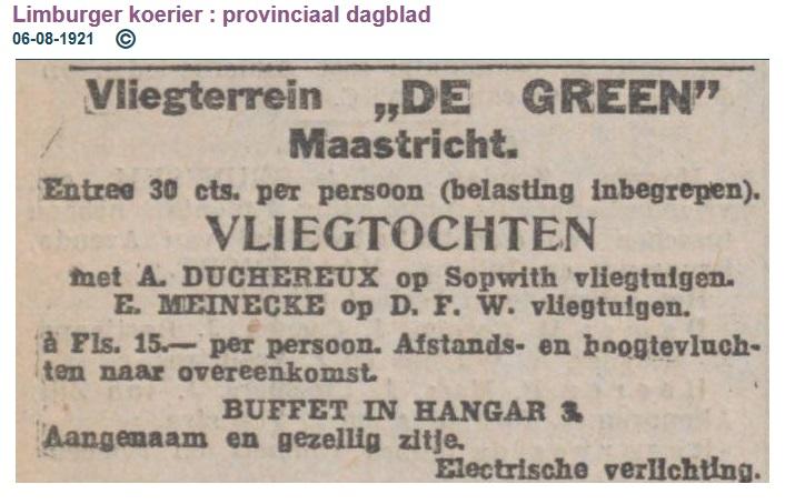 Naam: 1921-08-06 Duchereux Maastricht Meinecke adv.jpg Bekeken: 124 Grootte: 99,9 KB