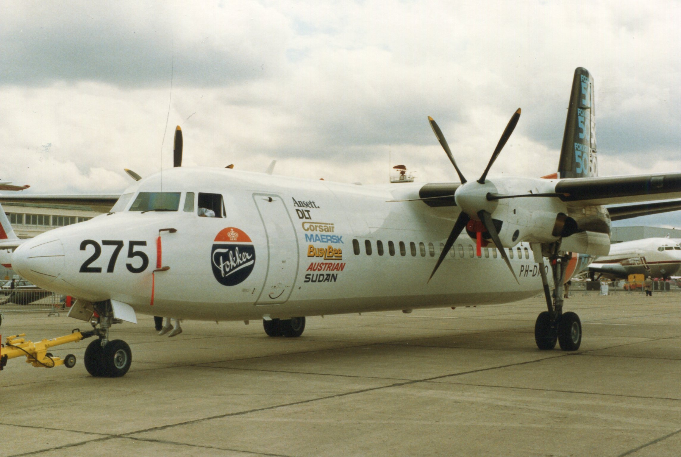 Naam: Fokker 50  juni 1987 (4).jpg Bekeken: 110 Grootte: 412,9 KB