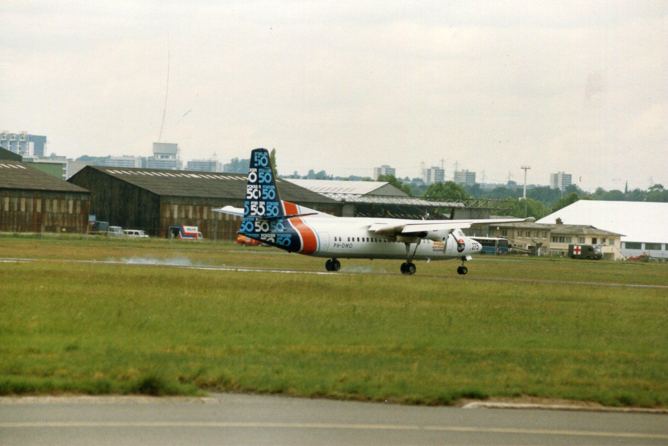 Naam: Fokker 50  juni 1987 (7).jpg Bekeken: 107 Grootte: 429,1 KB