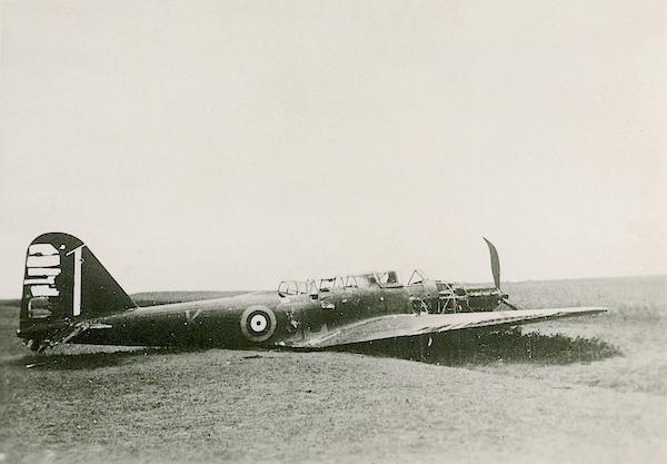 Naam: Foto 110. 1940 ?. Fairey Battle. 600 breed.jpg Bekeken: 162 Grootte: 336,7 KB