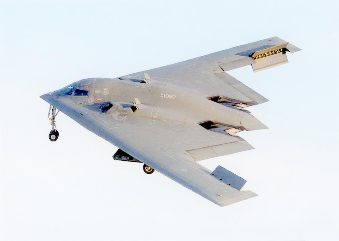 Naam: Foto 683. 93-1087 %22Spirit of Pennsylvania%22. Northrop Grumman B-2A Block 30 Spirit. 1100 bree.jpg Bekeken: 179 Grootte: 41,9 KB