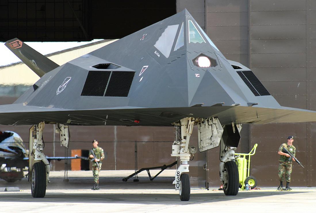 Naam: Foto 684. Lockheed F-117.jpg Bekeken: 137 Grootte: 92,4 KB