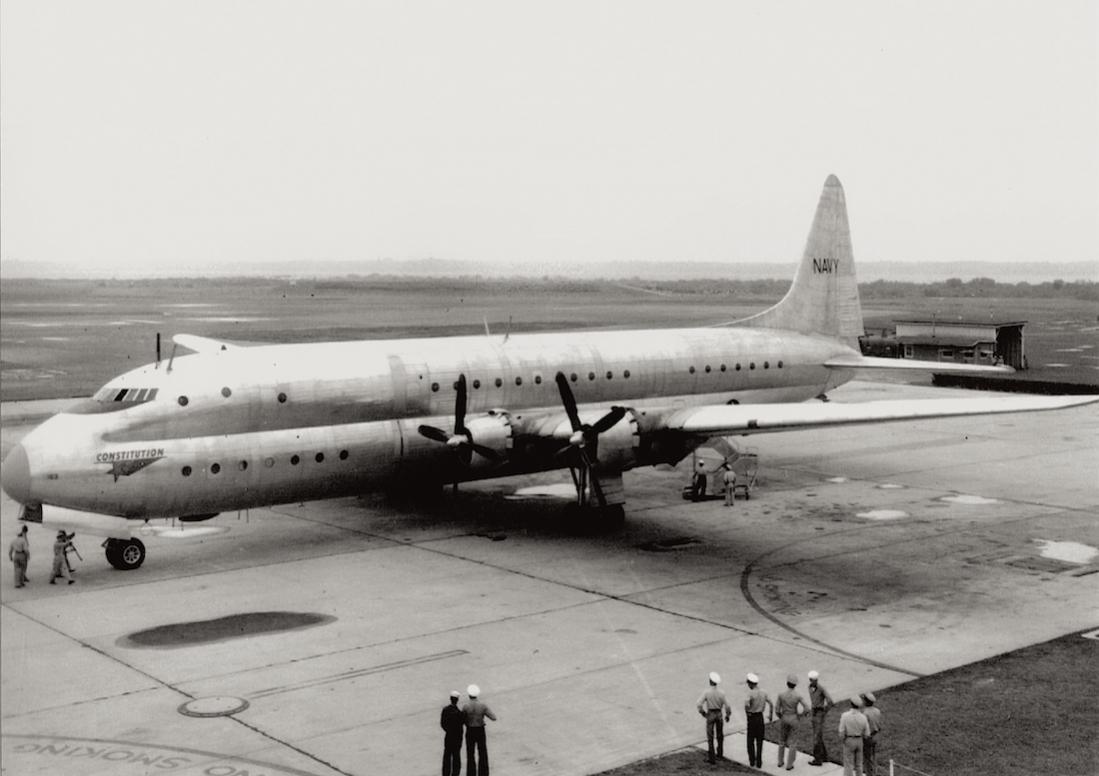 Naam: Foto 587. Lockheed R6V Constitution, kopie 1100.jpg Bekeken: 261 Grootte: 75,6 KB