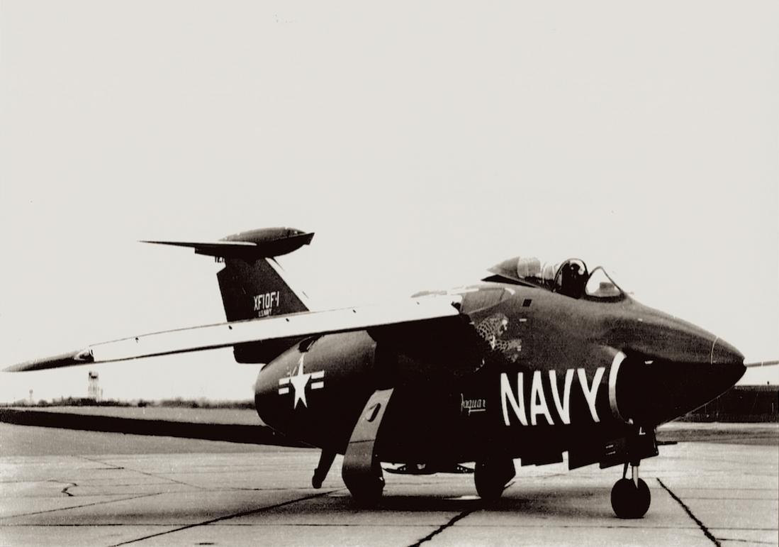 Naam: Foto 590. Grumman XF10F-1 Jaguar, kopie 1100.jpg Bekeken: 177 Grootte: 61,1 KB