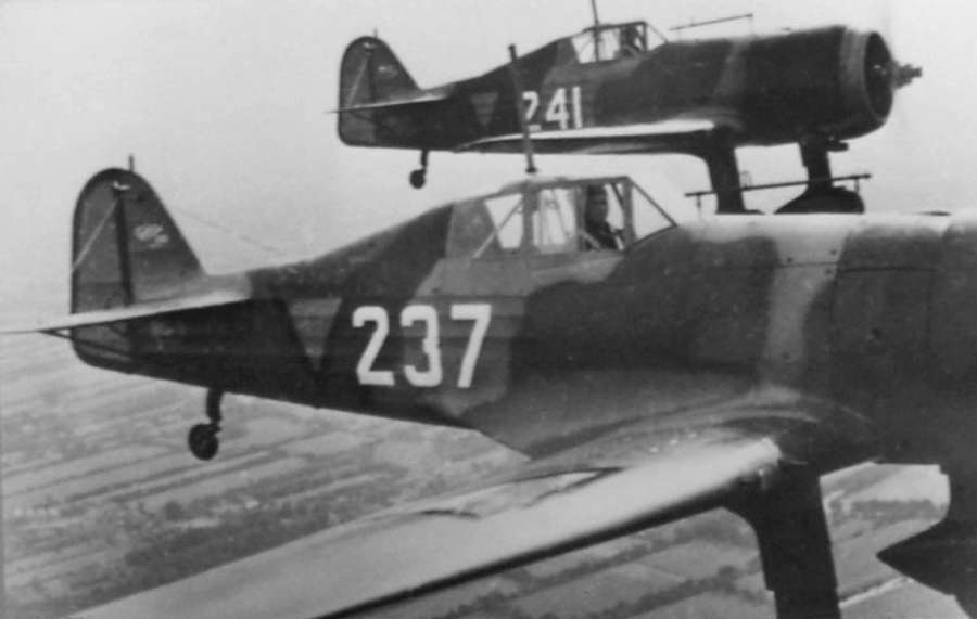 Naam: Fokker D21 in formatie.jpg Bekeken: 336 Grootte: 32,9 KB