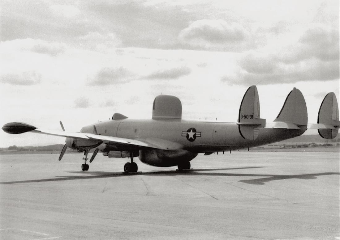 Naam: Foto 593. Lockheed C-121 0-50131 (55-0131 : MSN 1049A-4404), kopie 1100.jpg Bekeken: 114 Grootte: 73,8 KB