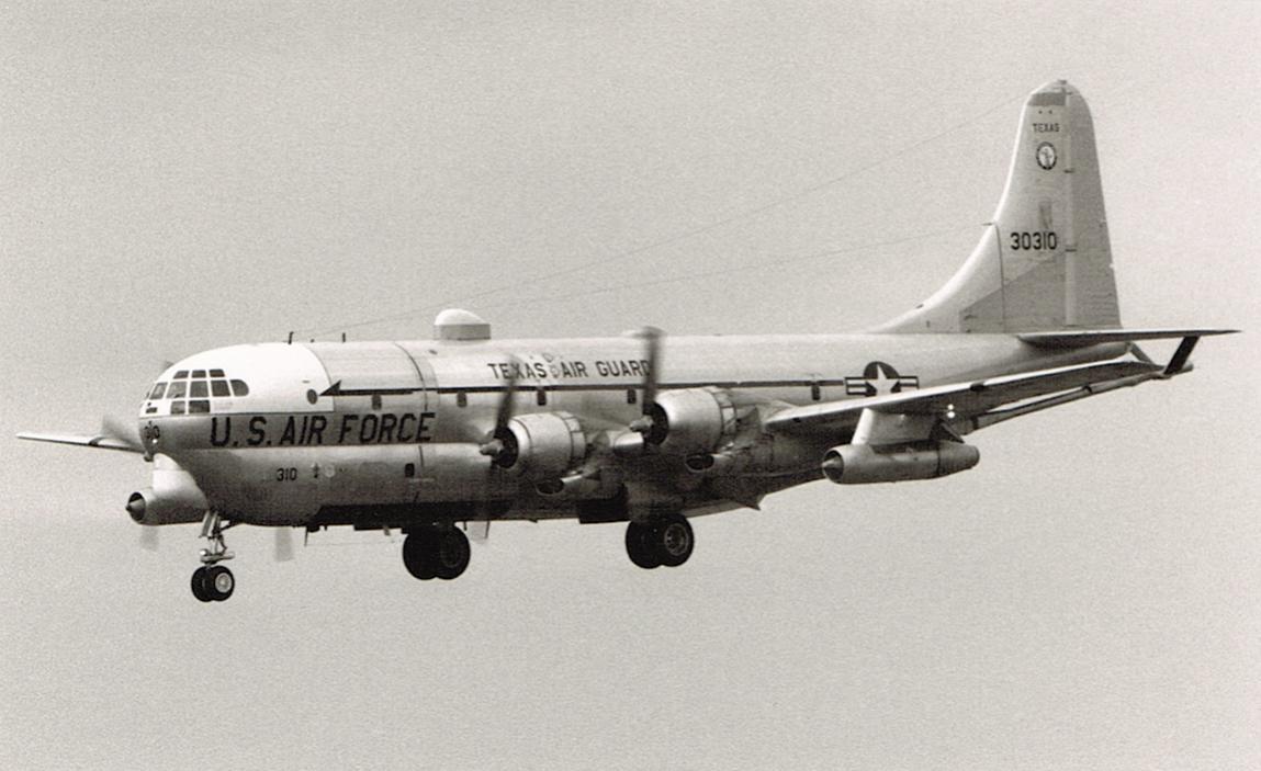 Naam: Foto 4. 181st ARS, Texas ANG, Boeing KC-97L Stratotanker, 53-0310.jpg Bekeken: 4112 Grootte: 91,8 KB