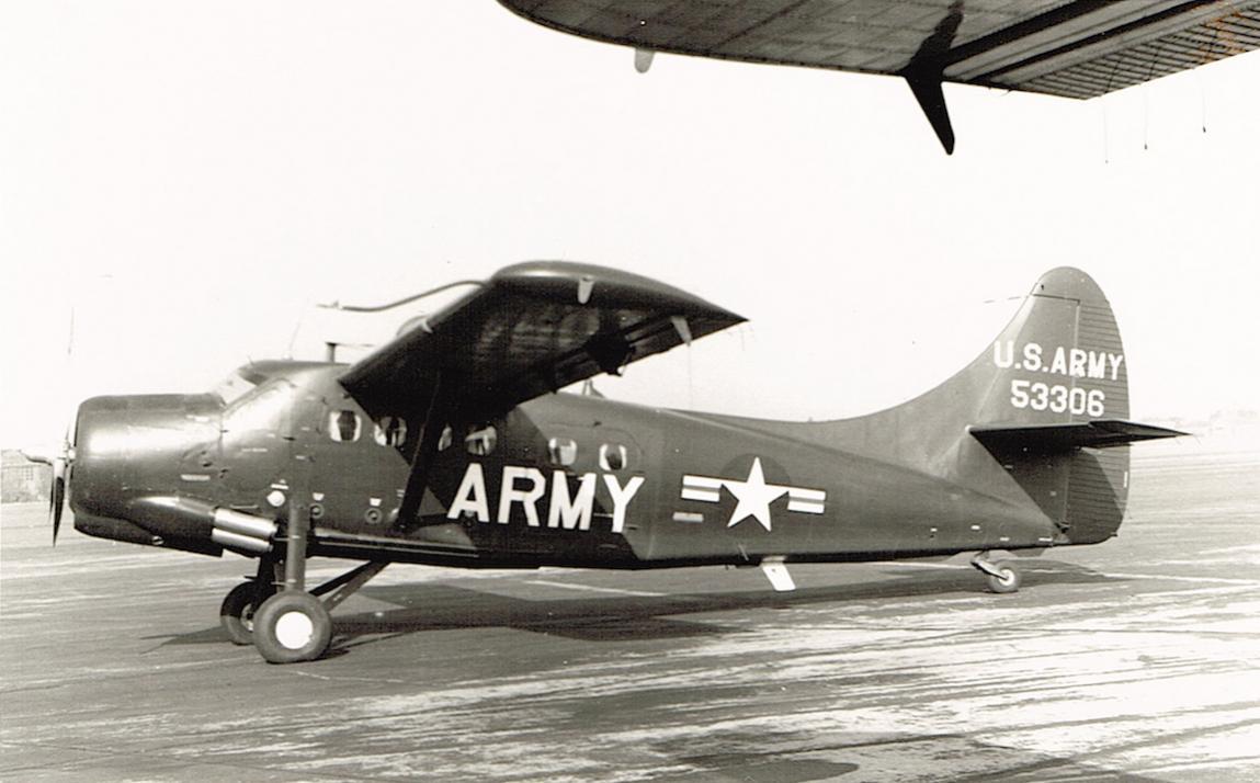 Naam: Foto 8. de Havilland Canada U-1A-DH Otter (55-3306). US Army.jpg Bekeken: 625 Grootte: 88,2 KB