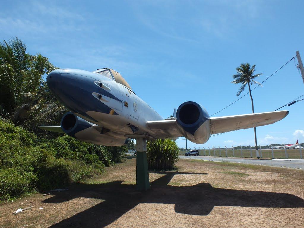 Naam: F 8 Meteor , Salvador..jpg Bekeken: 861 Grootte: 139,3 KB