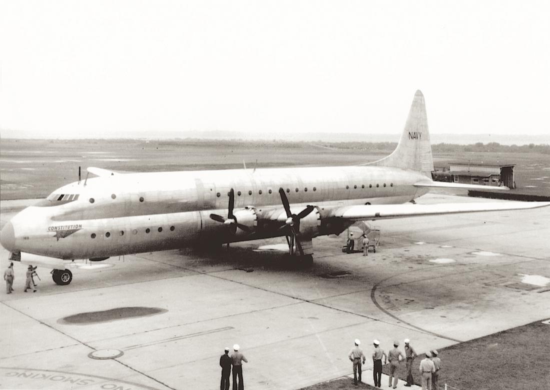 Naam: Foto 756. Lockheed R6V Constitution. 1100 breed.jpg Bekeken: 105 Grootte: 77,6 KB