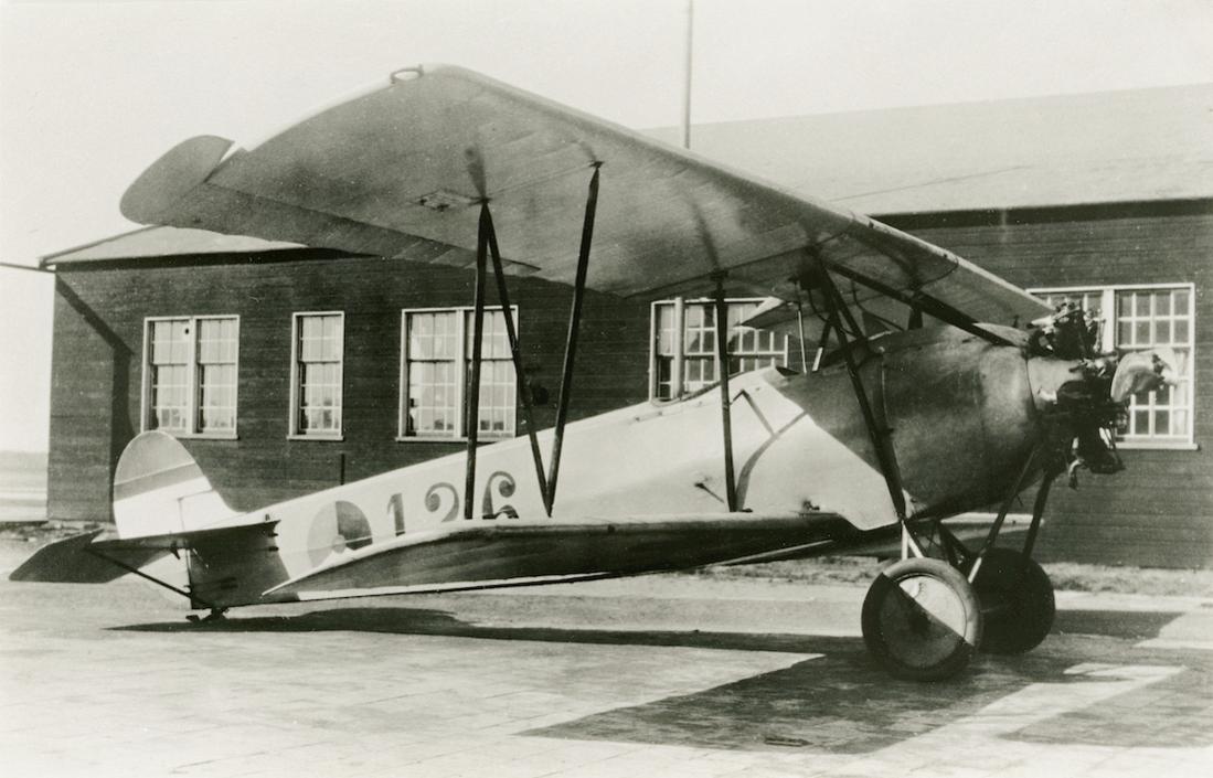 Naam: Foto 111. '126'. Fokker S.IV van de 2e serie. 1100 breed.jpg Bekeken: 294 Grootte: 92,7 KB