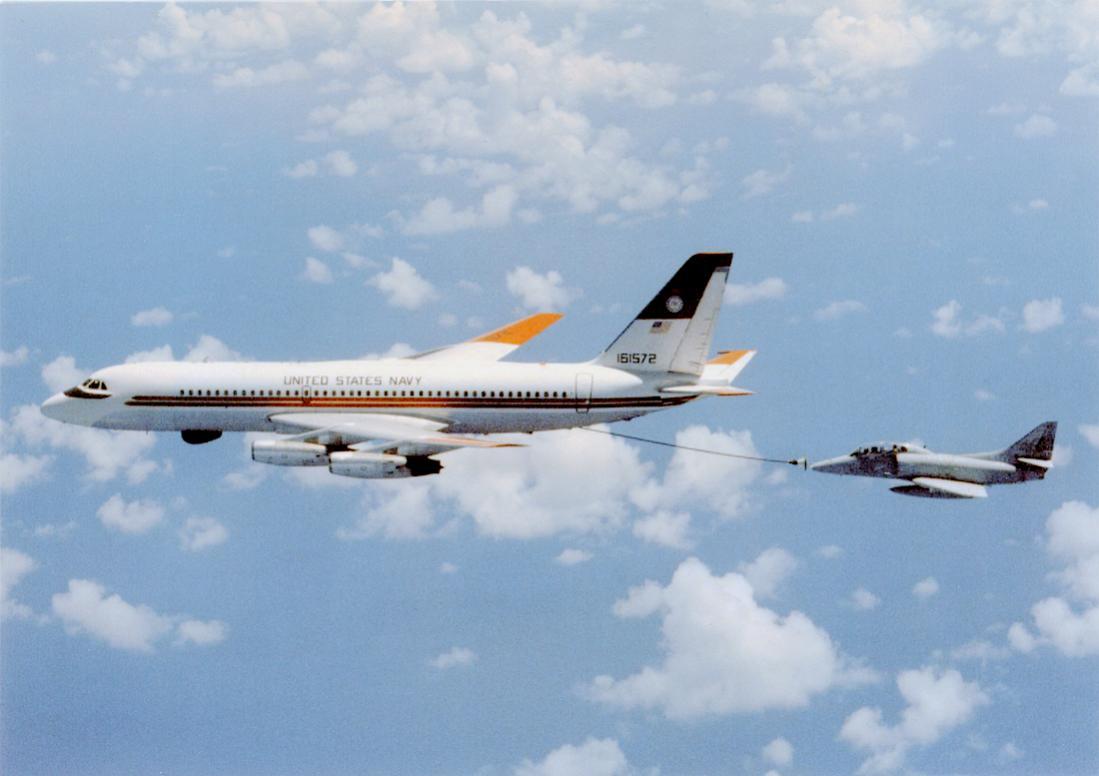 Naam: Foto 730. Convair UC-880. 1100 breed.jpg Bekeken: 171 Grootte: 65,7 KB