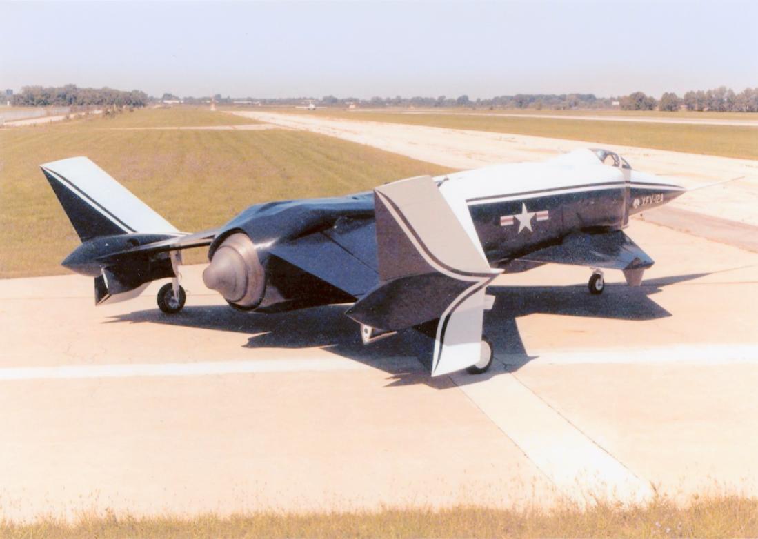 Naam: Foto 731. Grumman X-29. 1100 breed.jpg Bekeken: 137 Grootte: 69,9 KB