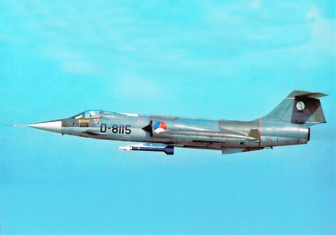 Naam: Foto 185. 'D-8115'. Lockheed F-104G Starfighter. 1100 breed.jpg Bekeken: 270 Grootte: 63,6 KB