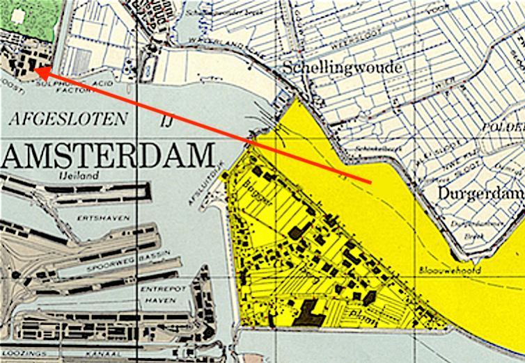 Naam: uitsnede van een kaart van het vliegveld schellingwoude.jpg Bekeken: 612 Grootte: 110,9 KB