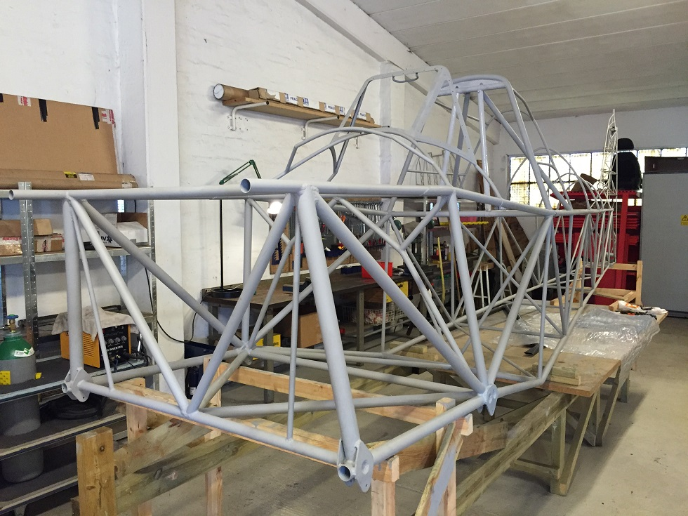 Naam: Fuselage without engine bracket kl.jpg Bekeken: 2412 Grootte: 270,8 KB