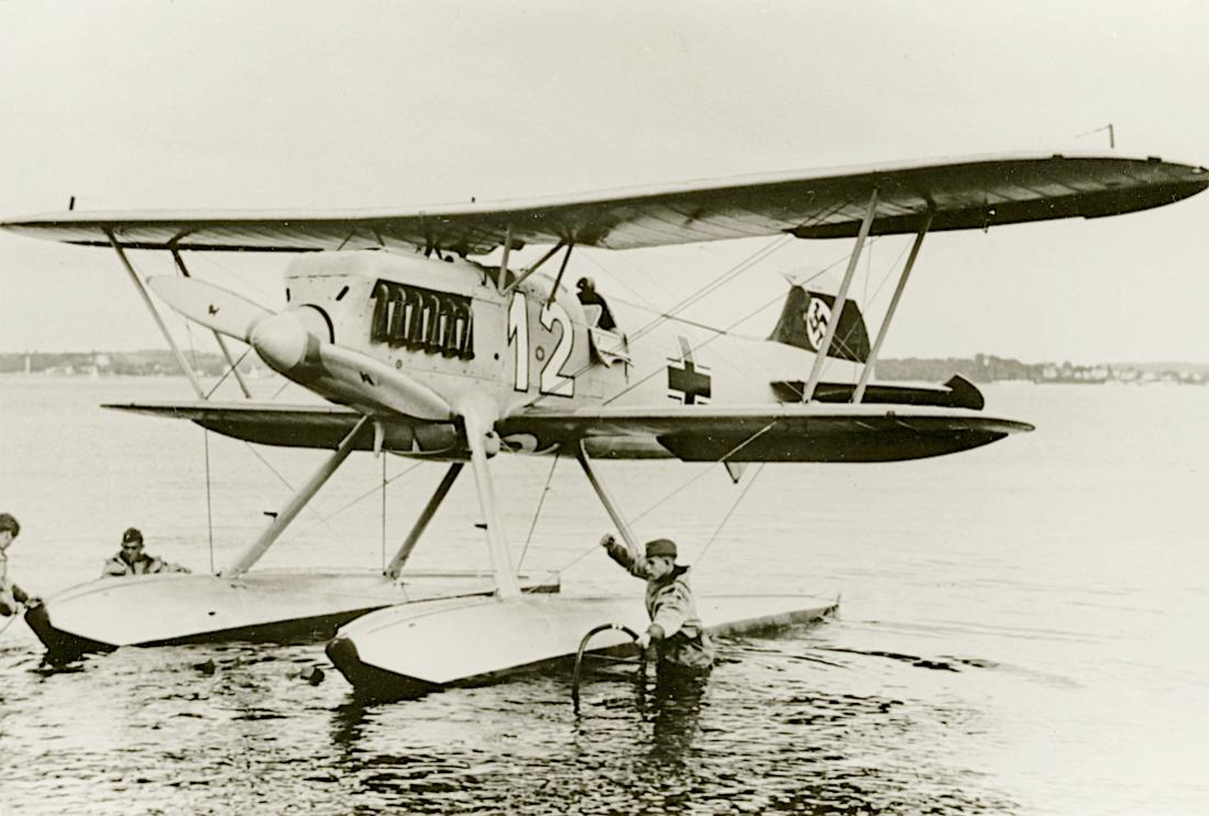 Naam: Foto 527. Heinkel He-51 B-2. 1100 breed.jpg Bekeken: 114 Grootte: 95,1 KB