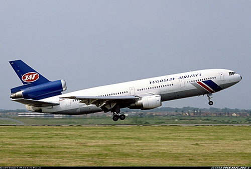Naam: JAT's enige DC 10.jpg Bekeken: 460 Grootte: 57,6 KB
