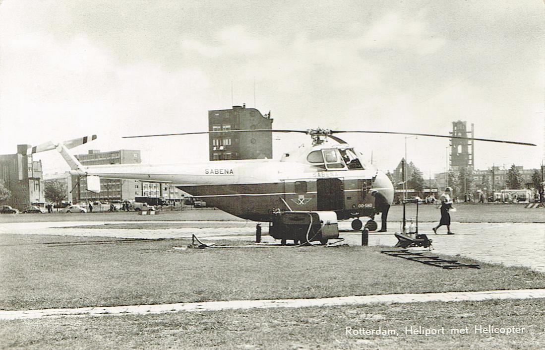 Naam: Kaart 845. Rotterdam Heliport met Sikorsky S.55 OO-SHD. 1100 breed.jpg Bekeken: 174 Grootte: 128,4 KB