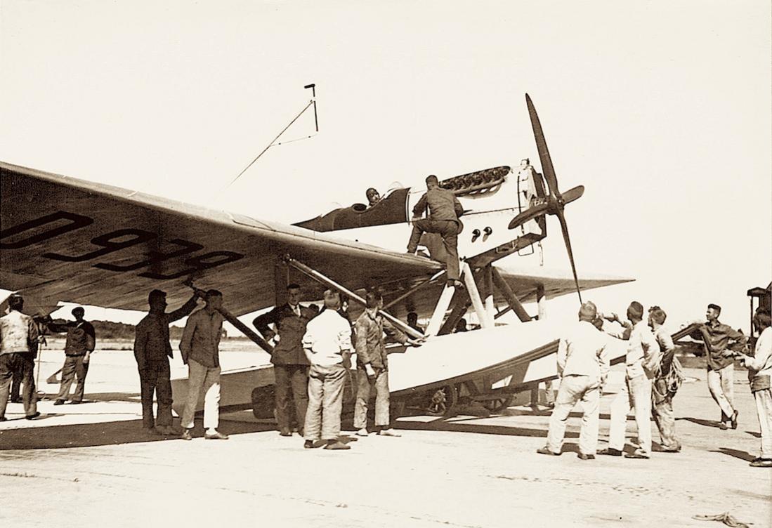 Naam: Foto 431. D-939. Heinkel HE 1. 1100 breed.jpg Bekeken: 492 Grootte: 101,9 KB