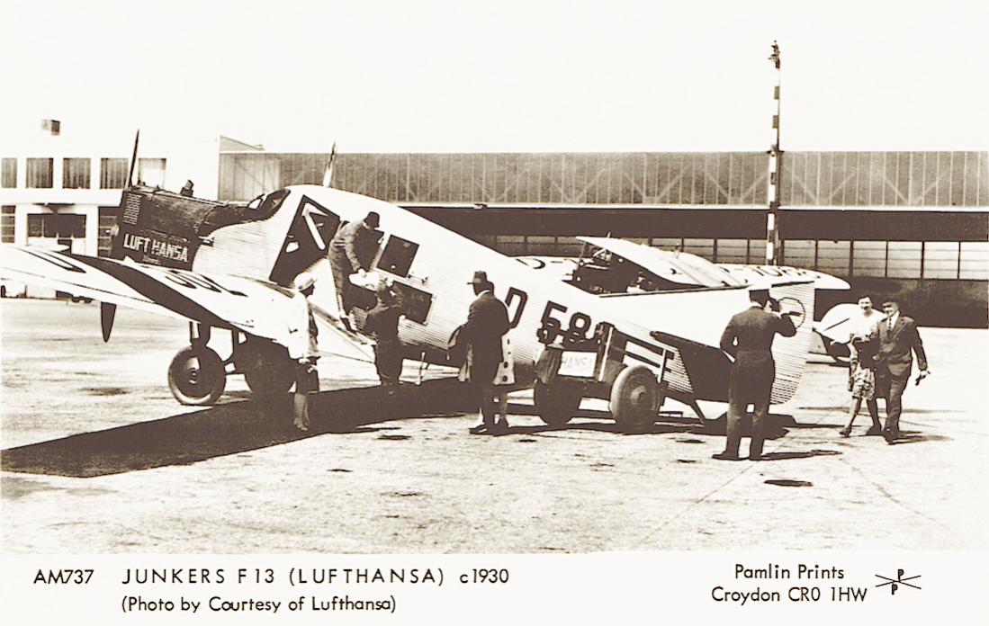 Naam: Foto 433. D-582 'Dommel'. Junkers F.13, kopie 1100.jpg Bekeken: 402 Grootte: 105,8 KB