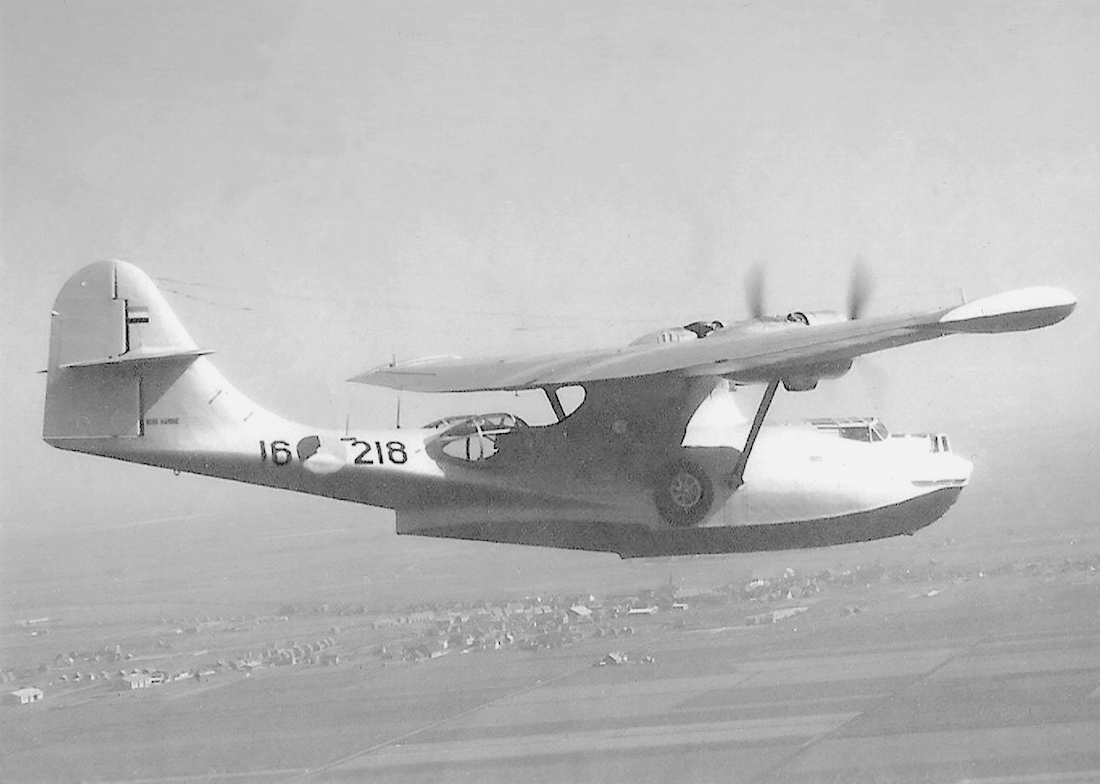 Naam: '16-218' (P-218, ex P-83). Consolidated PBY-5A Catalina.jpeg