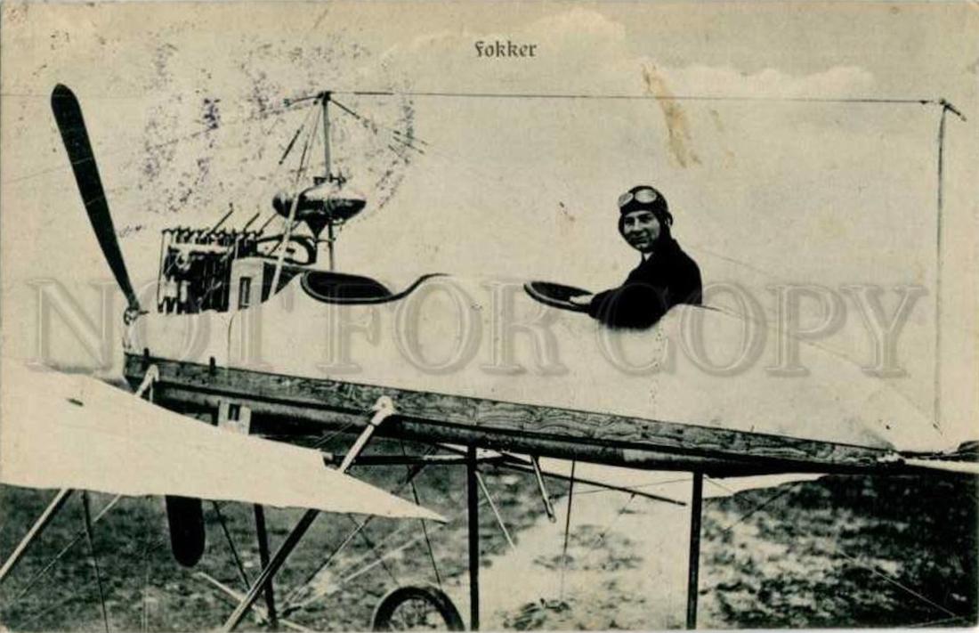 Naam: Anthony Fokker pilot Johannisthal Air Field Berlin. Vraagprijs US$ 329,99.jpg Bekeken: 212 Grootte: 448,4 KB